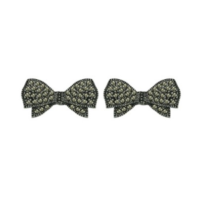 Marcasite Earring Bow
