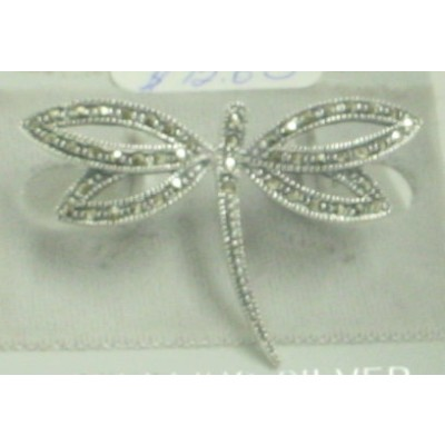 Marcasite Pin Dragonfly