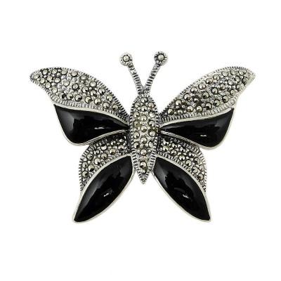 MS Pdnt Butterfly W/ Part Onyx Wings