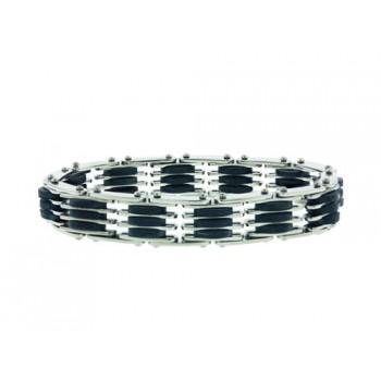 Stainless Steel Bracelet Long Flat Steel Pcs