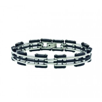 Stainless Steel Bracelets Stationary Steel Lines