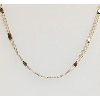 Sterling Silver Oxidized Double Chain 20 Inch