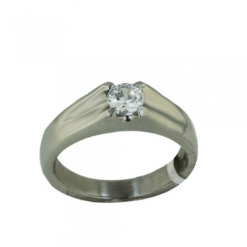 Stainless Steel Ring Tension Setting Cl Cz
